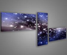 Quadri moderni astratti 180 x 70 stampe su tela canvas con telaio MIX-S_46