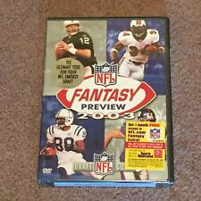 NFL Fantasy Preview 2003: Draft Guide (DVD, Sports, Stats, 2003) New, Sealed