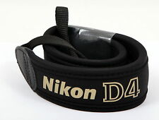 Premium Nikon D4 camera shoulder wide straps - Brand New