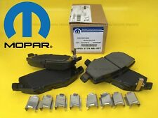 MOPAR OEM Brake Pads REAR Jeep Cherokee Liberty 08-13 Wrangler 07-16 Nitro 07-12