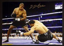 *New* Daniel Dubois Hand Signed 12x16 Boxing Photograph