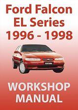 FORD FALCON EL Series WORKSHOP MANUAL: 1996-1998