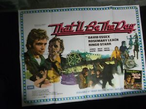 THAT WILL BE THE DAY ORIGINAL 1973 ENGLISH QUAD POSTER