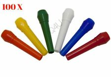 100 X Outside Mouthpieces Mouthtips for Shisha / Hookah / Sheesha Pipes