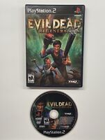 Evil Dead: Regeneration (Sony PlayStation 2, 2005) NO MANUAL!! PS2