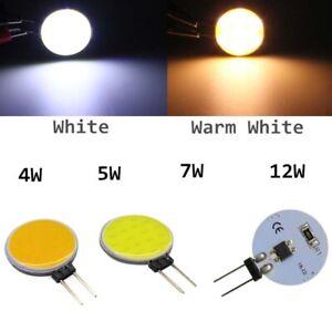 LED chip 12v dc cob floodlight G5 smd bulb cool/warm white lamp 4w 5w 7w 10w 12w