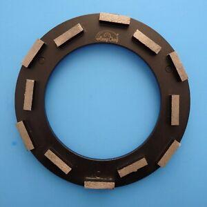"9.5"" metal bond diamond grinding ring: concrete floor grinding coating removal"