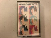 RARE SEALED Elton John Leather Jackets 1986 Geffen Tape Cassette Album