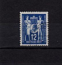 DDR,  243  IV, Plattenfehler IV, gestempelt,  Fleck a.d. Brusttasche  siehe Scan