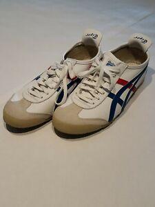 Onitsuka Tiger Men Size US 9 White Blue Red Asics Ot Sneaker DL408