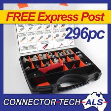 Deutsch DTM Connector Kit 296pc With Crimp Tool Automotive Harness #DTM-KIT1
