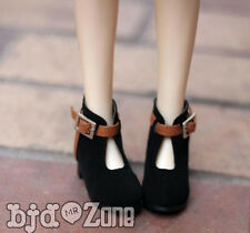 New Girl Black Personality Small boots BJD Doll 1/3 SD10 Shoes