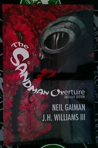 Absolute Sandman Overture 2018 Vertigo DC Comics New Sealed Hardcover Gaiman