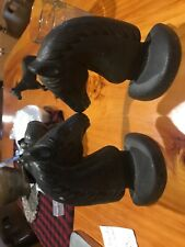 Cast Horse Head Book Ends