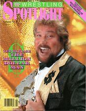 MILLION DOLLAR MAN TED DIBIASE WWF WRESTLING SPOTLIGHT MAGAZINE VOL 8 1990 WWE