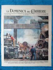 La Domenica del Corriere 20 luglio 1947 Ferrovie - Tribù Uiaca - Spagna