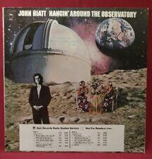 John Hiatt Hangin' Around The Observatory KE 32688 US Promo w/ Timing Strip 1st