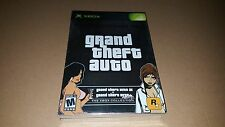 Grand Theft Auto Double Pack Brand New Sealed Original Xbox GTA III & Vice City