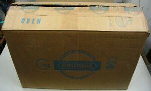 GRUNDIG SATELLIT TRANSISTOR 5000 / 205a - SAMMLERZUSTAND, WIE NEU, OVP, PAPIERE