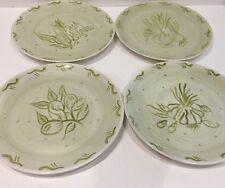 Trish Richman At Home Decorative Housewares 4 Garden Vegetables Salad Plates