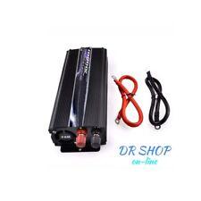INVERTER 2000W WAT 12V 220V TRASFORMATORE AUTO  BARCA CAMPER PRESA USB