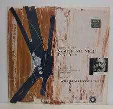 "BRAHMS SYMPHONIE NR.2 D-DUR OP.73 FURTWÄNGLER 12""LP (e362)"