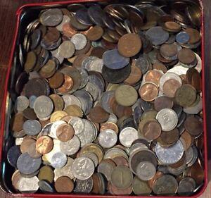 1 kg Kilo  World Coins Mix BULK