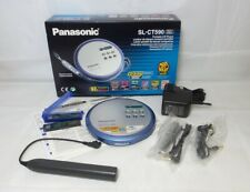 Panasonic SLCT590 Personal CD Player - Silver (SL-CT590EB-S)