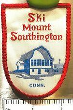 MOUNT SOUTHINGTON ~ Vintage Ski Patch ~ Plantsville, CT