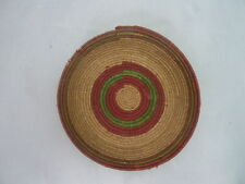 """Native American Weave Small Tray Bowl. Very Nice Design. Approx 1"""" T & 6"""" D"""