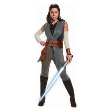 Rubies Adult Womens The Last Jedi Star Wars Rey Halloween Costume~Large 14-16