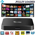TX3 Pro TV Box Amlogic S905X Quad Core 4K Android 6.0 2.4G WiFi Multi-media Play