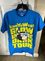 Gildan Kanye West Glow in the Dark Tour 2007 T-Shirt Size S