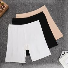 Lady Bamboo Fiber Elastic Safety Under Shorts Panties Leggings Underwear Briefs