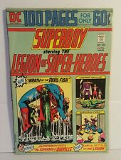 SUPERBOY #202 STARRING THE LEGION OF SUPER HEROES 100 PAGE SPECIAL 1974 FN+