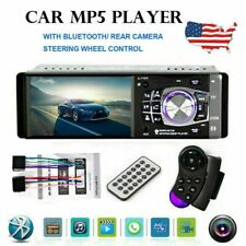 4.1 HD Single 1DIN Car Stereo Video MP5 Player Bluetooth FM Radio AUX USB SD TF