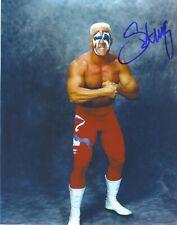 Sting Signed WWE WCW STUDIO SHOT 8X10 Color RP Photo
