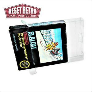 Klarsicht Schutzhüllen 0,3 mm Bienengräber OVP Nintendo NES protector folie Box