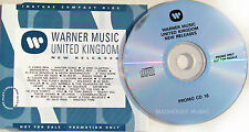 TORI AMOS CD Silent All The These WEA UK PROMO R.E.M. Kylie MINOGUE Enya CD # 16