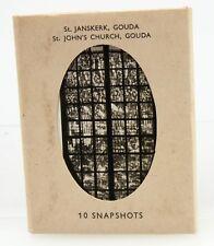 """Snapshots 4-2 5/8 x 3.5 """" B+W St Janskerk Gouda St John's Church orig pkg 371884"""
