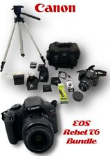 **Canon Rebel T6 Digital SLR Camera Bundle!!