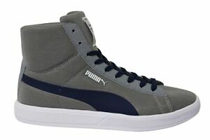 Puma Archive Lite Mid Mesh RT Grey Textile Lace Up Mens Trainers 355890 15