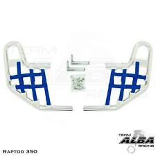 Yamaha Raptor 350 YFM 350 YFM350 Nerf Bars  Alba  silver blue 209 T1 SL