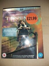TITANIC 3D BLURAY 2D BLURAY 2012 LIKE NEW