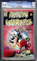 Alien Worlds 2 CGC Graded 9.8 NM/MT Dave Stevens Cover Pacific Comics 1983