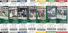2014 MICHIGAN STATE SPARTANS NCAA COLLEGE FOOTBALL TICKET STUB SET NOT ON STRIP