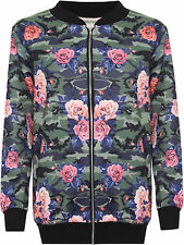 Floral Polyester Coats & Jackets Plus Size for Women