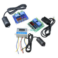 Digital Dual LCD Temperature Humidity Thermostat Controller SHT20 Sensor DC12V