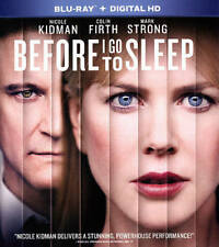 Before I Go to Sleep Blu-ray + Digital HD Nicole Kidman, Colin Firth BRAND NEW