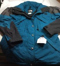 Northface Women's Size 6 Extreme Gear Ski Jacket Parka Coat Hooded Green/Black